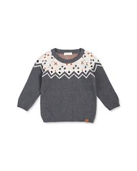 Miles Baby - Boys' Zigzag Intarsia Sweater - Baby