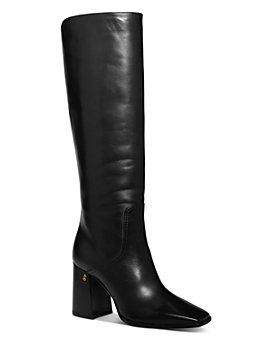 Jimmy Choo - Women's Brionne 85 Block Heel Tall Boots