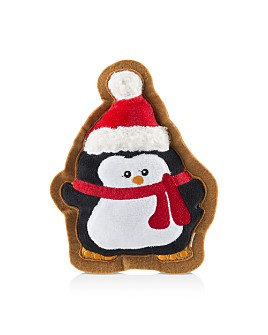 Haute Diggity Dog - Penguin Christmas Cookie Wagnolia Bakery Dog Toy