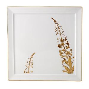 Bernardaud Vegetal Gold Wallis Salad Plate-Home