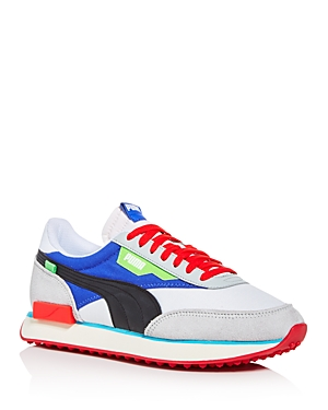 Puma Low tops MEN'S FUTURE RIDER RIDE ON MIXED-MEDIA LOW-TOP SNEAKERS