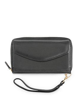 ROYCE New York - Leather Wristlet Wallet