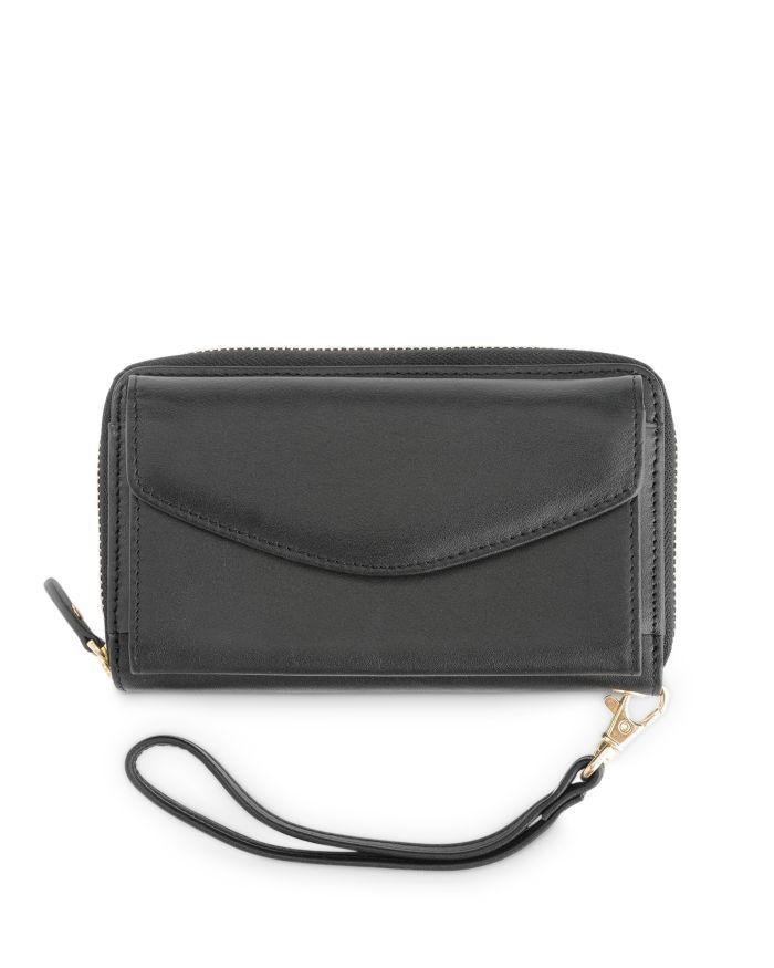 ROYCE New York Leather Wristlet Wallet  | Bloomingdale's
