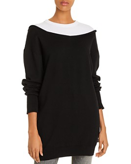 alexanderwang.t - Layered-Look Tunic Dress