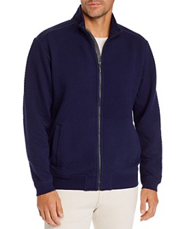 Tommy Bahama - Quilted Zip-Front Jacket
