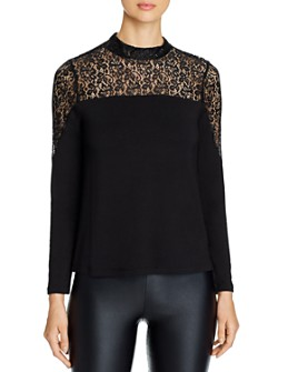Design History - Lace-Inset Top