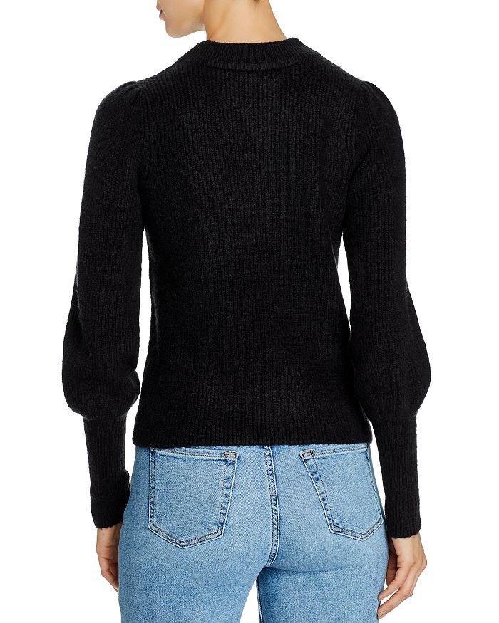 Design History Bishop-sleeve Sweater In Onyx | ModeSens