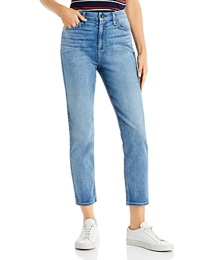 JEN7 by 7 For All Mankind Slim Boyfriend Jeans in Authentic Light Brooklyn