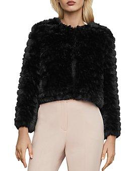 BCBGMAXAZRIA - Sophiana Faux Fur Jacket