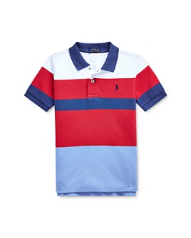 Ralph Lauren - Boys' Striped Color-Block Polo Shirt - Little Kid