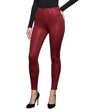 Good American Good Waist Crop Skinny Jeans in Ruby001