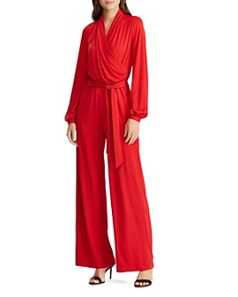 Ralph Lauren - Belted Wide-Leg Jumpsuit