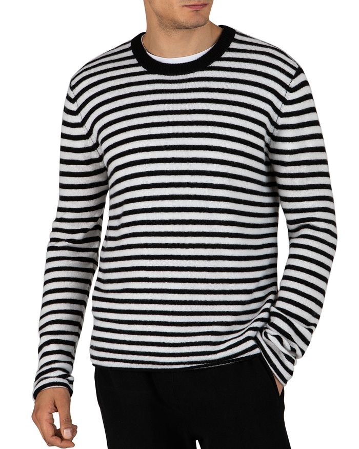 ATM Anthony Thomas Melillo - Striped Cashmere Sweater