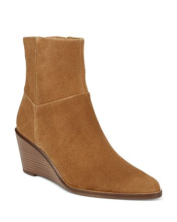 Vince - Women's Mavis Wedge Heel Booties
