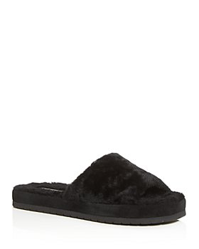 Vince - Women's Kalina Shearling Slide Sandals