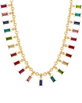 """AQUA - Multicolor Charm Necklace, 18"""" - 100% Exclusive"""