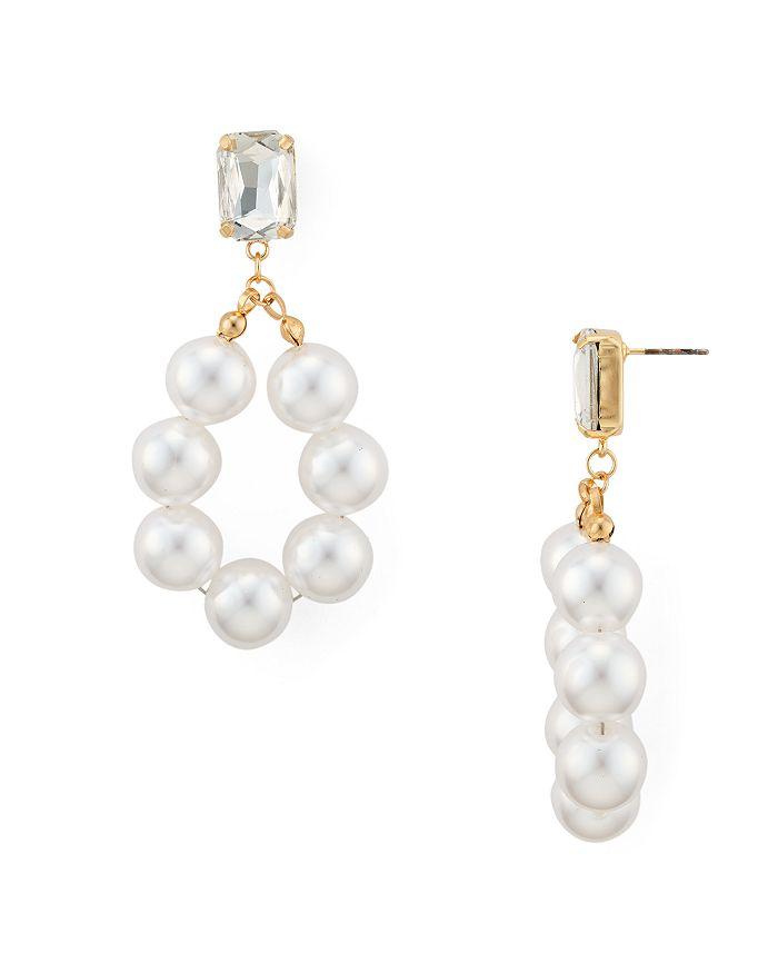 AQUA - Simulated Pearl Drop Earrings - 100% Exclusive