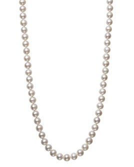 """Bloomingdale's - Akoya Pearl Necklace in 14K Yellow Gold, 18"""" - 100% Exclusive"""