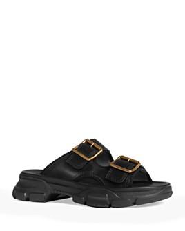 Gucci - Men's Aguru Buckle Slide Sandals