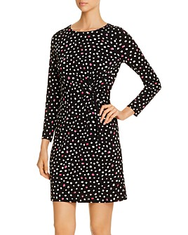 NIC and ZOE - Pop Dot Twist-Front Dress