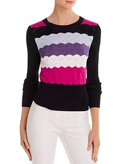 Cinq à Sept - Skylar Scalloped-Knit Sweater