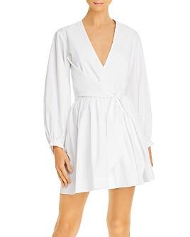 Gary Bigeni - Cotton Tie-Waist Wrap Dress