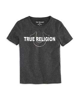 True Religion - Boys' Foil Logo Tee - Little Kid, Big Kid