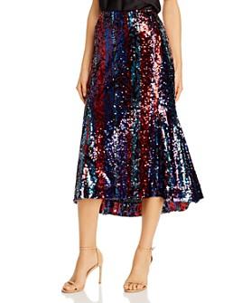 Rachel Zoe - Venice Sequined Midi Skirt