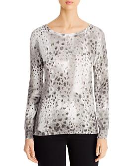Sioni - Animal-Print Sweater