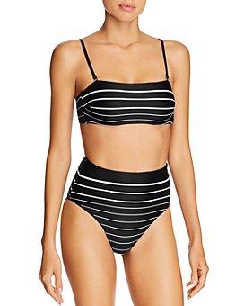 Vitamin A - Mila Bandeau Bikini Top & Barcelona Bikini Bottom