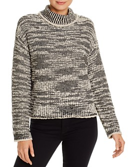 Eileen Fisher - Marled Turtleneck Sweater - 100% Exclusive