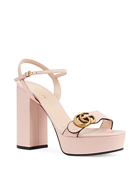 Gucci - Women's Platform Sandals with Double G