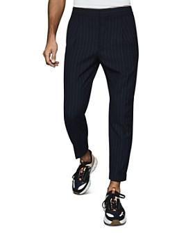 REISS - Pape Pinstriped Regular Fit Pants