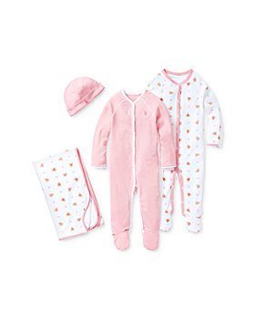 Ralph Lauren - Girls' Pretty in Pink Baby Bundle - Baby