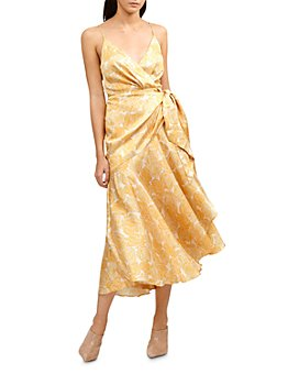 Acler - Dana Floral Print Wrap Dress