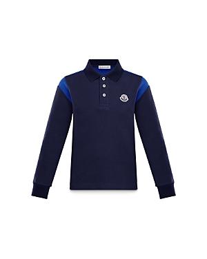 Moncler Boys\\\' Long Sleeve Polo Shirt - Little Kid