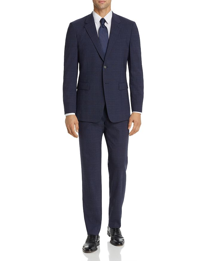 Theory - Chambers & Mayer Longford Tonal Glen Plaid Slim Fit Suit Separates