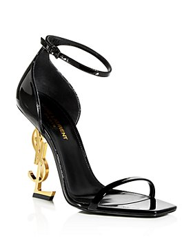 Saint Laurent - Women's Opyum Logo High Heel Sandals