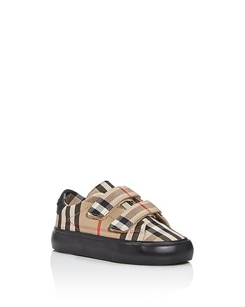 Burberry - Unisex Mini Markham Check Low-Top Sneakers - Walker, Toddler
