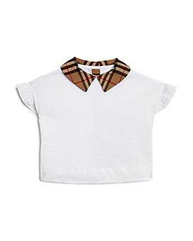 Burberry - Girls' Dita Ruffle-Sleeve Shirt - Little Kid, Big Kid