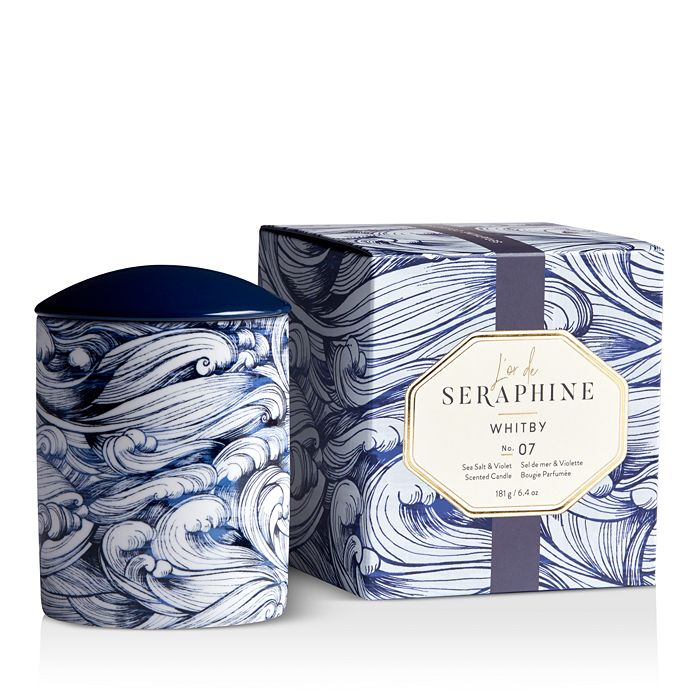 L'or de Seraphine - Whitby Large Ceramic Candle