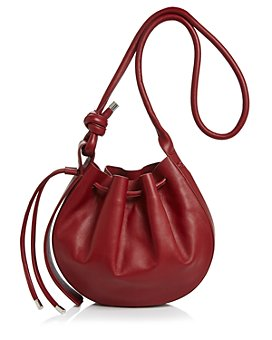 Behno - Ina Leather Bucket Bag