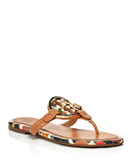Tory Burch - Women's Miller Enamel Thong Sandals