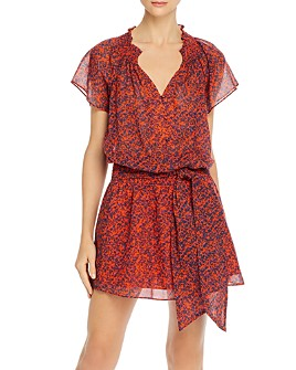 Parker - Frisco Smocked Floral Print Dress
