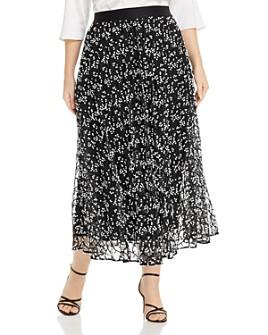 Marina Rinaldi - Cancan Embroidered Tulle Skirt