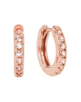 Olivia Burton - Huggie Hoop Earrings in Gold- or Rose Gold-Plated Sterling Silver