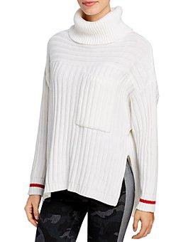Elan - High/Low Turtleneck Sweater
