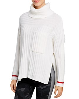 Elan - High/Low Turtleneck Sweater
