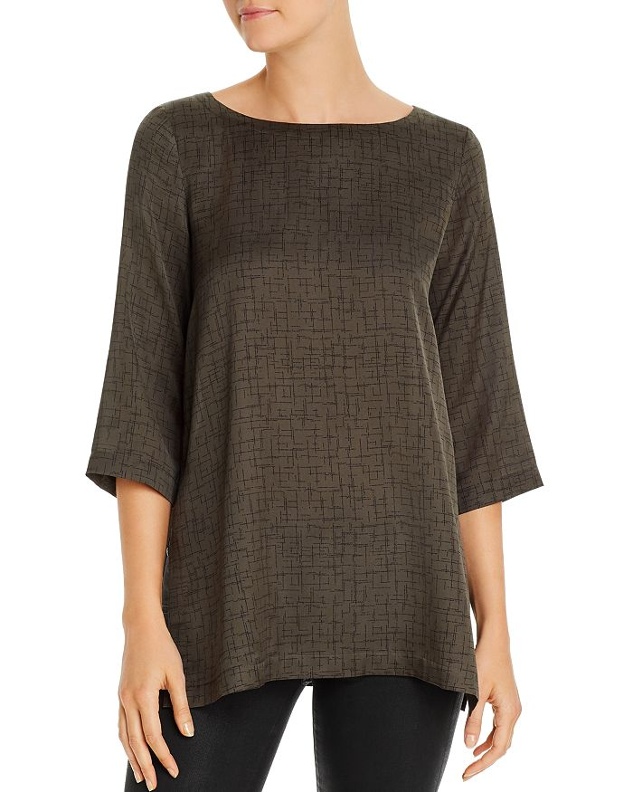 Eileen Fisher - Printed Tunic Top
