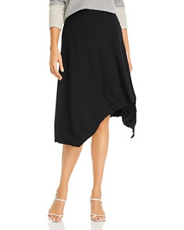 Eileen Fisher - Asymmetric Pleated Skirt